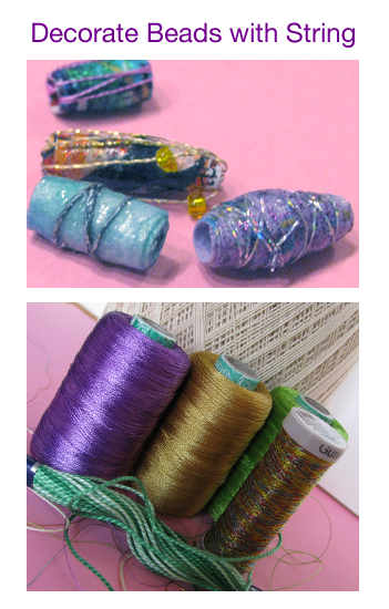 Add String to Beads