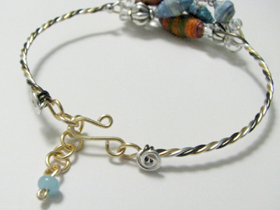 Twisted Wire Bracelet Clasp