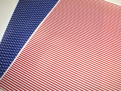 Stars and Stripes paper