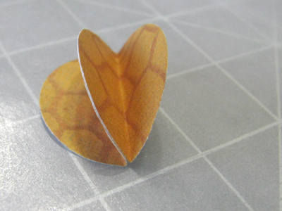 Making a Chinese Lantern bead
