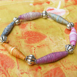 How to make Striped Paper Beads