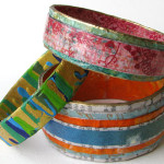 How to Make Paper Bangles