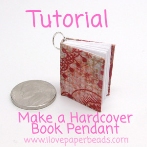 How to Make A Hardcover Book Necklace